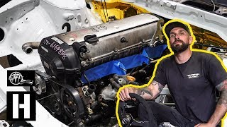NEW Build! - We Swap a 1jz Into Vin's Nissan s14 Drift Project