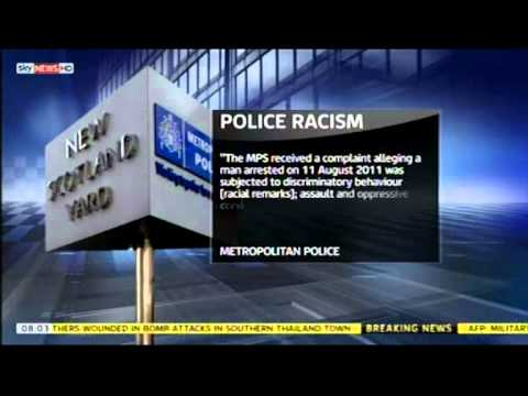 Met officer suspended over alleged racism on a recorder
