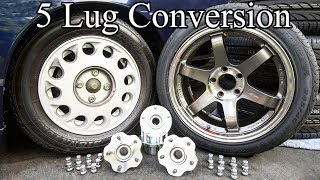 DIY: 5 Lug Conversion on your Car or Truck
