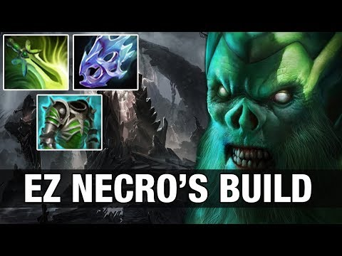NECROPHOS WITH Butterfly, Assault and Moon Shard - Draskyl - Dota 2