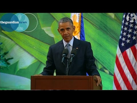 Barack Obama criticises Republicans over Syrian refugees