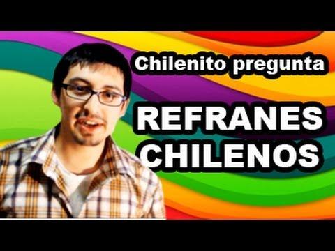 A jugar! chilenito pregunta #4 - refranes chilenos