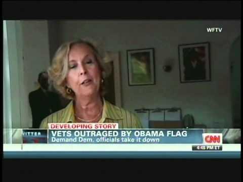 OUTRAGE OVER OBAMA FLAG