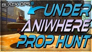 "COD BO4 PROP HUNT - HOW TO WALLBREACH ANYWHERE using this insane glitch ""NEW""METHOD AFTER 1.17"