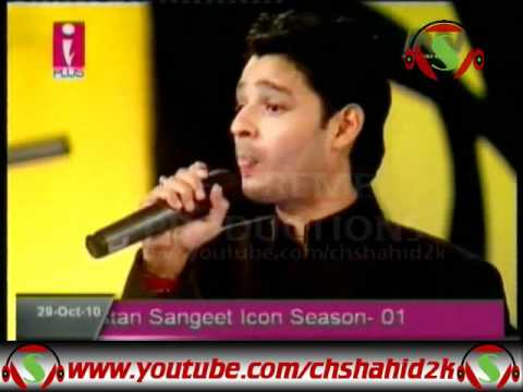 Asif Ali Babar Haal e Dil Pakistan Sangeet Icon 1 Elimination...