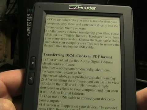 Walk around the Astak EZReader Pocket PRO 5 inch