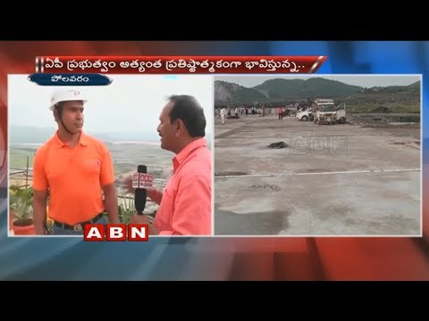 Navayuga Engineering Company Managing Director Sridhar face to face over Polavaram Project works