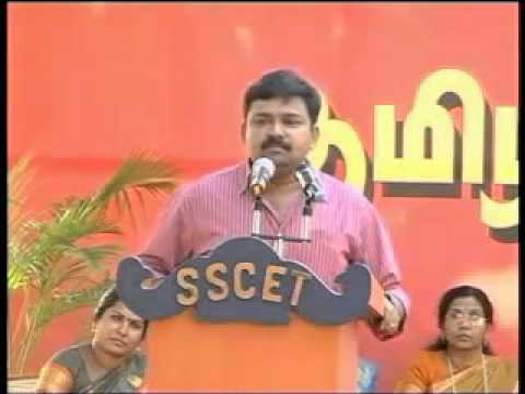 Gopinath Speech - Sscet Palani video