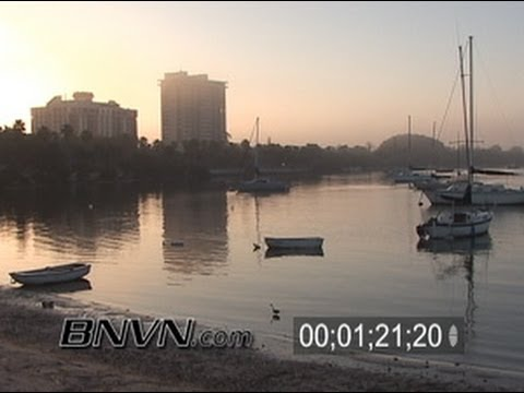 2/21/2006 Early morning fog footage from Sarasota, FL