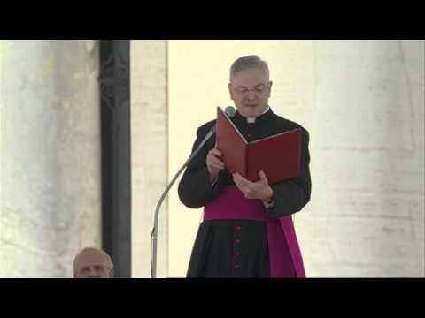Pope Benedict XVI's Final General Audience