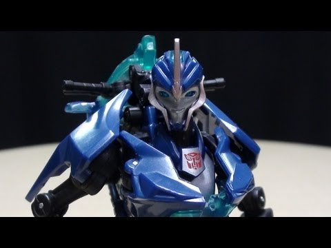 Transformers Prime Deluxe ARCEE: EmGo's Transformers Reviews N' Stuff