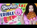 DIY EDIBLE Shopkins | Eat GIANT Shopkins Characters | How To ...