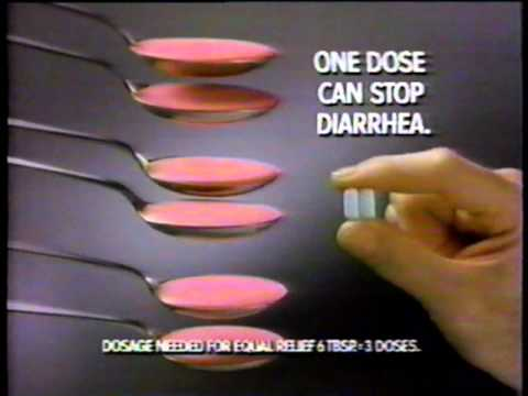 Immodium AD anti-diarrhea ad, Hawaiian vacation theme (commercial, 1994)