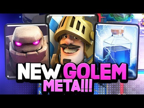 OP NEW GOLEM DECK | WHY Did They BUFF PRINCE?!?!