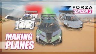 Forza Horizon 3 - Planes in Forza! (Build & Flying)