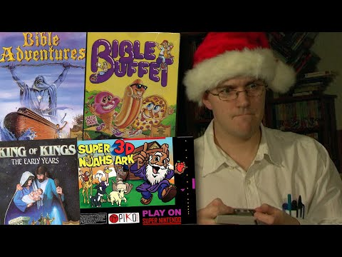 Bible Games - Angry Video Game Nerd