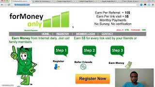 Formoneyonly.com Scam Review | Watch This Review And Don't Fall For The Scam