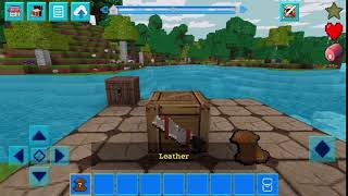 Gaming#26 #Howto craft leather horse armor? | PrimalCraft Survive with Minecraft Skins Exporter