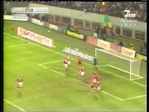 2003 August 27 Lokomotiv Moscow Russia3 Shakhtar Donetsk Ukraine 1 Champions League