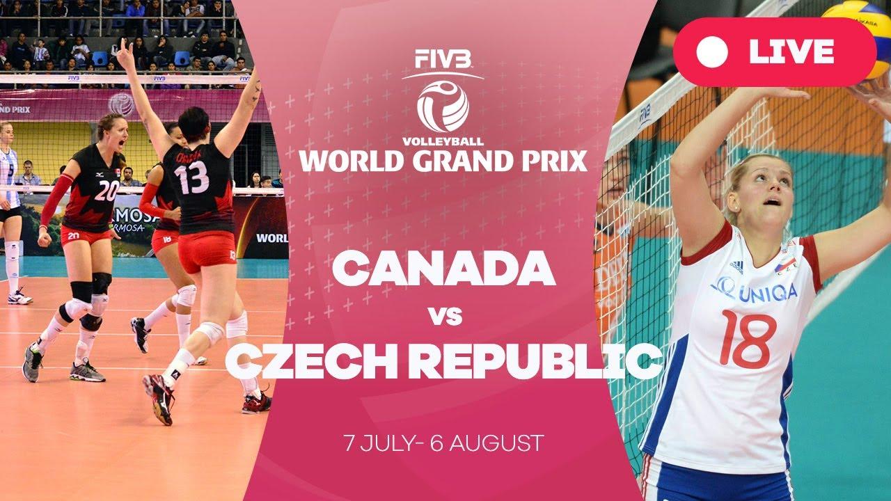 Canada v Czech Republic - Group 2: 2017 FIVB Volleyball World Grand Prix
