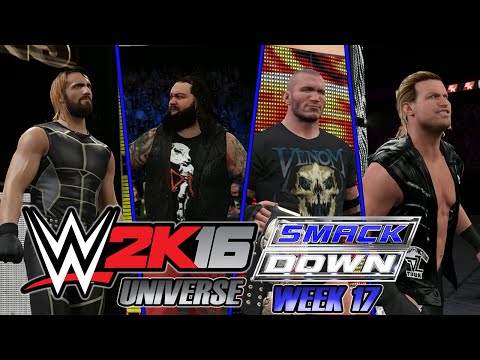 WWE 2K16 - UNIVERSE SMACKDOWN - Week 17: THE NEW CHALLENGER