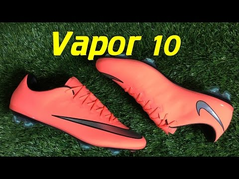 Nike Mercurial Vapor 10 Bright Mango (Metal Flash Pack) - Review + On Feet