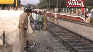 Railway employee died in a train accident at Malakpet Station, Hyderabad