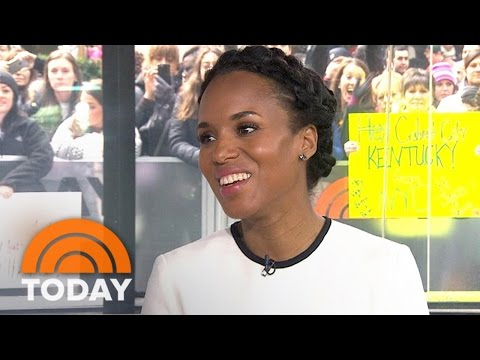 Kerry Washington Talks Adweek Cover,  Playing Anita Hill In 'Confirmation' | TODAY
