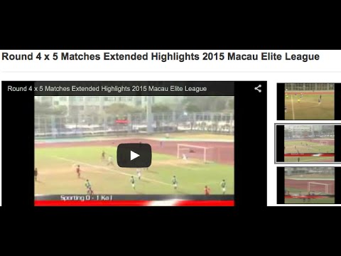 Round 4 x 5 Matches Extended Highlights 2015 Macau Elite League