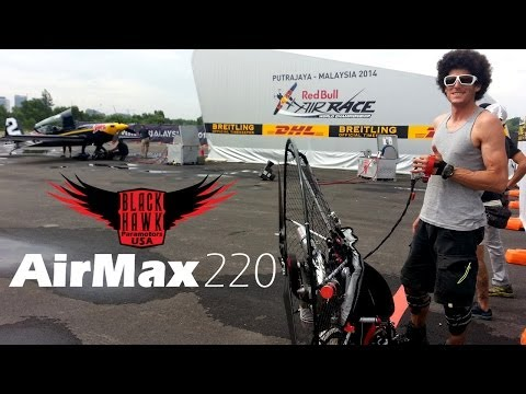 Redbull Air Races 2014 Featuring Pal Takats & AirMax 220 Paramotor