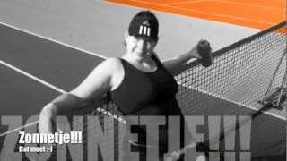 Wheelchair Tennis Training Micha Spaanstra