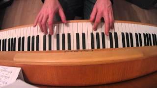 Chinaski - Každý ráno cover verze pro klavír