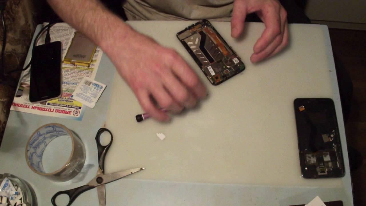 Замена стекла тачскрина своими руками 52