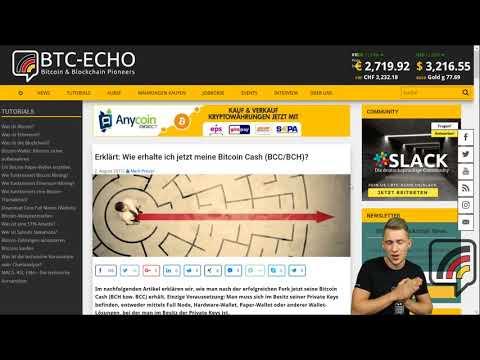 BTC  Bitcoin Allzeithoch   deutsche Börse gibt Nutzerdaten heraus   Bitcoin Cash-Tutorial   KW 30