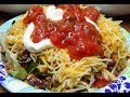 My Daughter Kayla's Delicious Taco Salad that she Prepared for us...So good!!
