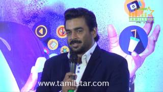 R. Madhavan Inaugurates Hathway Broadband Internet In Chennai