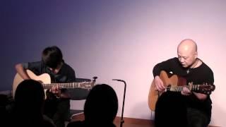 (Karla Bonoff) The Water is Wide - Masaaki Kishibe & Sungha Jung (live)