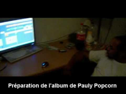 Olibass au studio en Allemagne – album de PAULY POPCORN