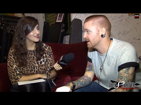 Memphis May Fire (matty Mullins) Interview #3 With Rock Forever Magazine video