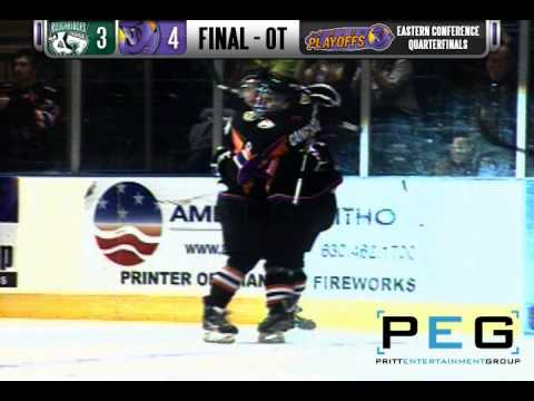 Youngstown Phantoms Austin Cangelosi Chip Shot Goal In Overtime [High Quality]