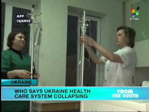 Ukraine: Donetsk health care system collapsing, WHO says