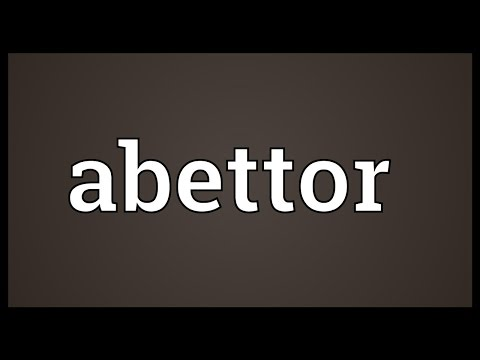 Header of Abettor