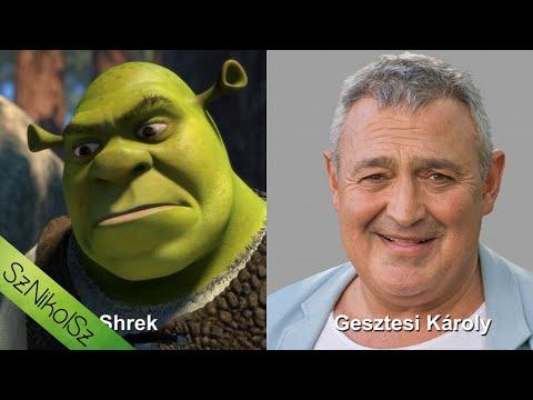 Magyar hangok - 2001 Shrek