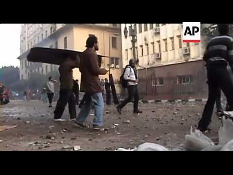 WRAP Egypt's military police clash with protesters
