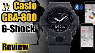 GBA-800 G-Shock review - G-Squad Bluetooth enabled Step tracker
