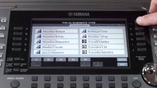 PSR-S970/S770 MicIn/Vocal Harmony