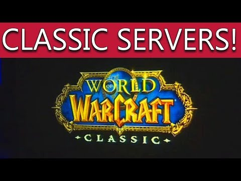 World of Warcraft Vanilla Servers ANNOUNCED - OFFICIAL TRAILER WoW Classic