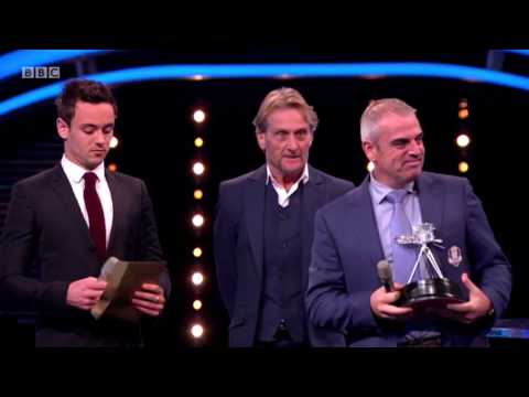 Tom Daley Presenting At The Sports Personality Of The Year Awards 2014