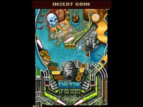 king kong pinball machine
