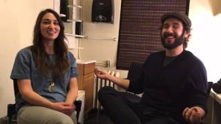 Josh Groban - Preparing for Broadway: A Chat With Sara Bareilles  [EXTRAS]